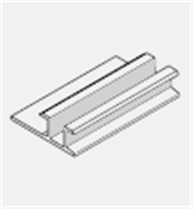 HARDIE ARChitectural ALUMINIUM NEGATIVE JOINER 2700 x 6mm (DLTD)