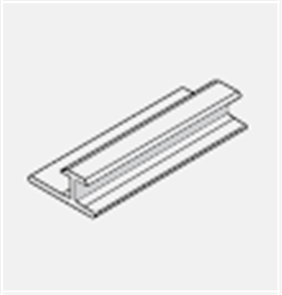 HARDIE ARChitectural ALUMINIUM DRY AREA JOINER 2700 x  6mm