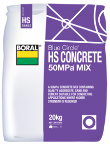 CONCRETE 50MPa MIX (HIGH STRENGTH) 20kg