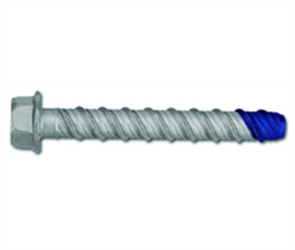 SCREW ANCHOR MASONRY HEX HEAD BLUE TIP GALVANISED