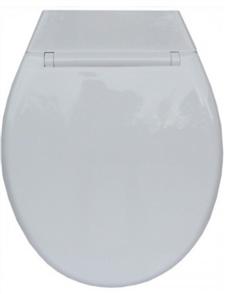 TOILET SEAT WHITE HD ABS MERITON W / - 217mm LINK