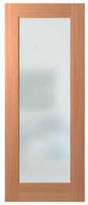 DOOR JST1 JOINERY CLEAR LAMINATE 2040X820X40 SPM