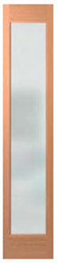 HUME DOOR / SIDELITE JST11 ILLUSION / JOINERY SPM (STAIN GRADE) GLAZED TRANSLUCENT  2040 X 400 X 40mm