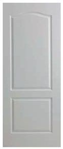 DOOR VIENNA MOULDED PANEL WOODGRAIN