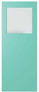 DOOR XF1 DURACOTE CLEAR 2040 x 870 x 40mm