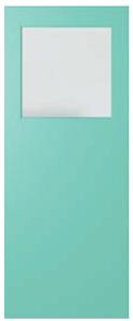 DOOR XF1 DURACOTE TRANSLUCENT 2040 x 820 x 40mm
