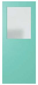DOOR XF3 DURACOTE SOLICORE TRANSCULENT ½ GLASS 2340 X 920 X 40mm