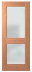 HUME DOOR JST2 JOINERY SPM (STAIN GRADE) GLAZED CLEAR 2040 x 820 x 40mm