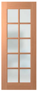 HUME DOOR JST10 JOINERY SPM (STAIN GRADE) 4mm GLAZED CLEAR 2040 x 820 x 40mm