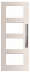 DOOR MADISON PMAD 4G GLAZED TRANSLUCENT