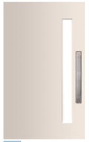 DOOR MADISON PMAD PV 101 GLAZED CLEAR