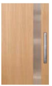 CORINTHIAN DOOR INFUSION METAL FUSMA PV 101 VICTORIAN ASH