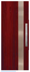 CORINTHIAN DOOR INFUSION METAL FUSMJ 101 JARRAH 2040 x 820 x 40mm