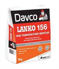 DAVCO (LANKO) HIGH TEMPERATURE MORTAR #156 5kg