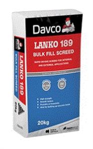 DAVCO (LANKO) BULK FILL SCREED #189 20kg