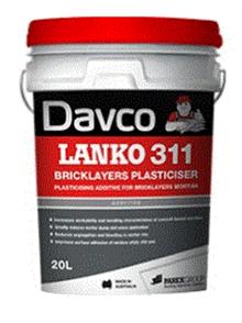 DAVCO (LANKO) BRICKLAYERS PLASTICISER #311 20ltr
