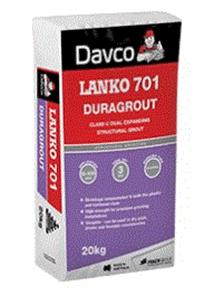 DAVCO (LANKO) DURAGROUT #701 20kg