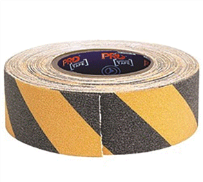 TAPE - NON SLIP (YELLOW & BLACK) 18mm x 50M
