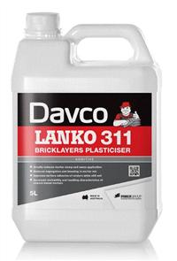 DAVCO (LANKO) BRICKLAYERS PLASTICISER #311
