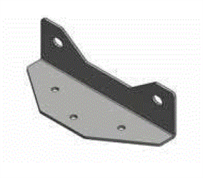 STAIR STRINGER HD GALVANISED TREAD MOUNTING BRACKET
