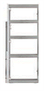 CORINTHIAN CAVITY SLIDER PLATINUM 6000 SINGLE FLUSH JAMB 2040 x 1020 x 90mm (DLTD)