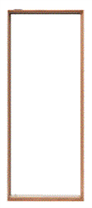 CORINTHIAN DOOR FRAME PVTFA AMERICAN WHITE OAK INCLUDES PIVOT DOOR HARDWARE 140 x 40 -
