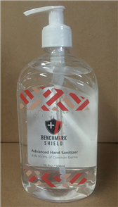 SANITISER - HAND (ALCOHOL) 500ml