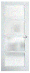 CORINTHIAN DOOR MODA PMOD4GT GLAZED TRANSLUCENT