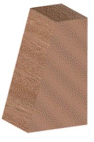 MERANTI KD SELECT GLAZING BEAD RANDOM LENGTHS 19 x 12.5mm