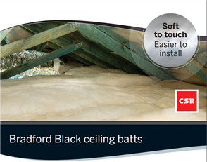 BRADFORD BLACK HYPOALLERGENIC CEILING BATTS R3.5
