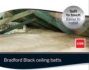 BRADFORD BLACK HYPOALLERGENIC CEILING BATTS R4.1