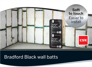 BRADFORD BLACK HYPOALLERGENIC WALL BATTS R2.0