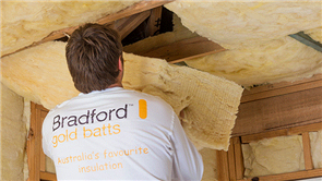 BRADFORD GOLD HI-PERFORMANCE GLASSWOOL CEILING BATTS R5.0