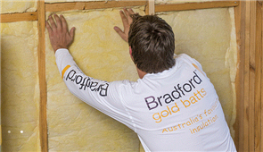 BRADFORD GOLD HI-PERFORMANCE GLASSWOOL WALL BATTS R4.0