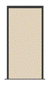 HUME WEATHERGUARD FRAME 160 x 40 x 2100 x 887mm MERANTI (3 x HINGES) ASSEMBLED for 2040 x 820mm DOOR