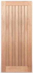 DOOR (CROWN) LYON - 2, STAIN GRADE, SOLID MAPLE 2040 x 820 x 40mm