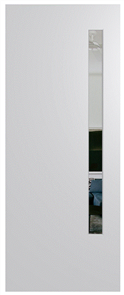 HUME DOOR BFR3 BUSH FIRE RESISTANT (BAL29) DURACOTE (TEMPERED HARDBOARD) GLAZED 6mm CLEAR 2040 x 820 x 40mm