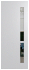 HUME DOOR BFR401 BUSH FIRE RESISTANT (BAL40) DURACOTE (TEMPERED HARDBOARD) GLAZED 6mm CLEAR 2040 x 820 x 45mm