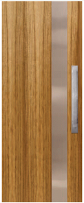 CORINTHIAN DOOR INFUSION METAL FUSMB 101 BLACKWOOD 2040 x 820 x 40mm