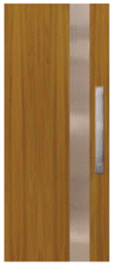 CORINTHIAN DOOR INFUSION METAL FUSMC 101 WESTERN RED CEDAR 2040 x 820 x 40mm