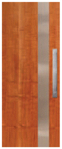 CORINTHIAN DOOR INFUSION METAL FUSMM 101 MYRTLE 2040 x 820 x 40mm