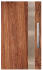 CORINTHIAN DOOR INFUSION METAL FUSMW PV 101 WALNUT