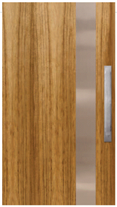 CORINTHIAN DOOR INFUSION METAL FUSMB PV 101 BLACKWOOD