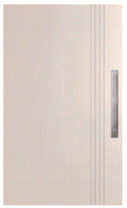 CORINTHIAN DOOR DECO PV 3S EXTERNAL PRIMED SKIN