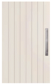 CORINTHIAN DOOR DECO PV 4S EXTERNAL PRIMED SKIN