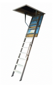 LADDER ATTIC ALUMINIUM WIDE ULTIMATE COMMERCIAL 700