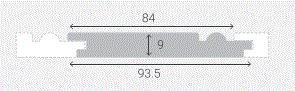 WESTERN RED CEDAR REGENCY RANDOM LENGTHS (900mm - 4200mm)