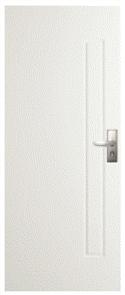 CORINTHIAN DOOR BUSHFIRE BAL40 PBUSH101 PRIMED SKIN 2040 x 820 x 42mm
