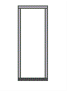 CORINTHIAN BAL40 ENTRANCE FRAME (MERBAU) 140x40x2101x886mm (3 HINGES) for DOOR 2040 x 820mm