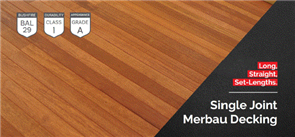 DECKING MERBAU KD SELECT DAR FIXED LENGTH 90 x 19mm